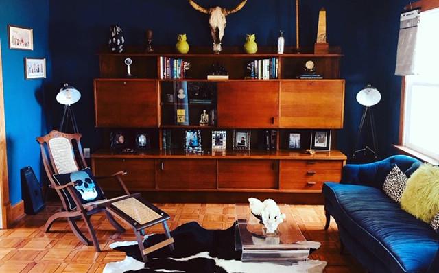 Mid Century Inspired Lounge