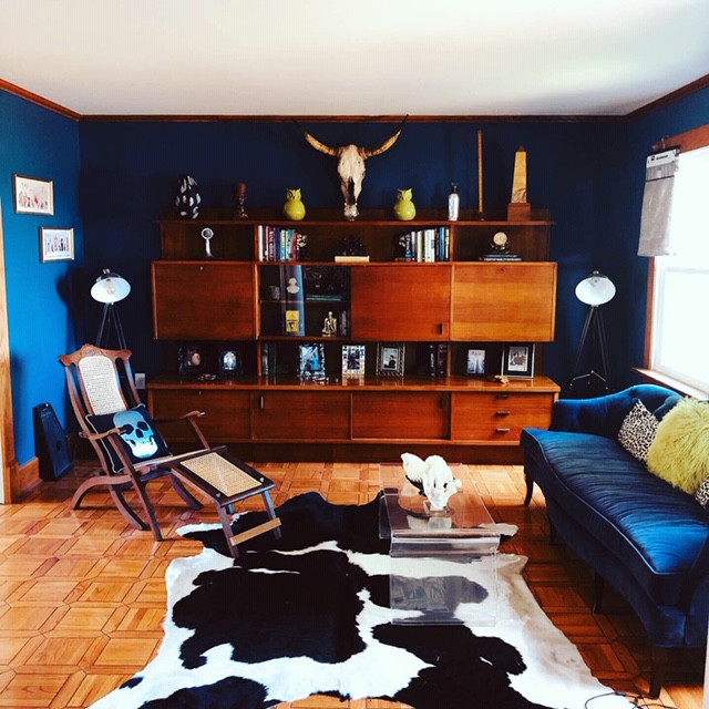 Mid Century Inspired Lounge