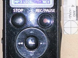 Криминалистически значимые особенности диктофонов SONY