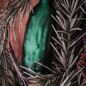 Kitsch oder altes Brauchtum: die Weihnachtsgurke