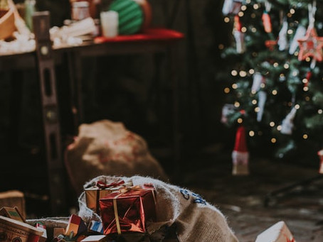 Merry Christmas aus Großbritannien