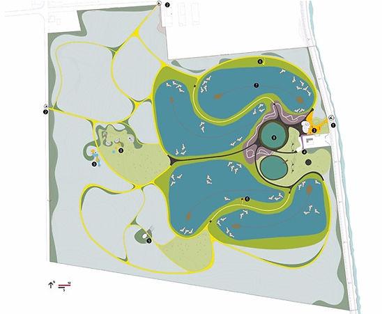 masterplan / parque ambiental do buçaquinho