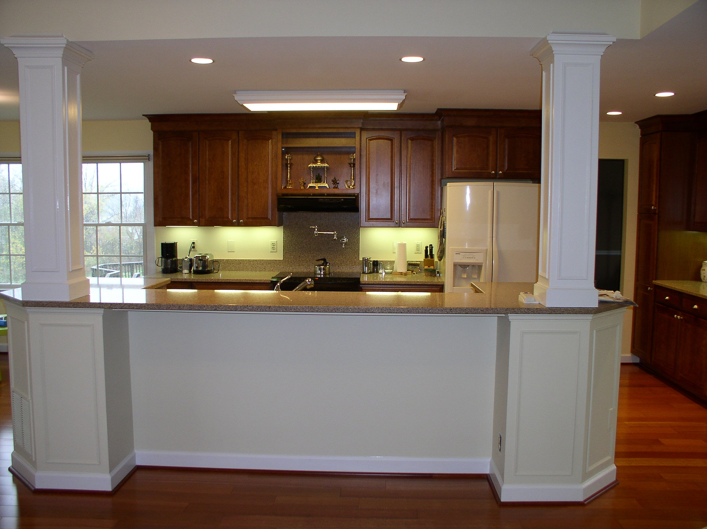 interesting kitchen island with columns 22 inspired ideas for
