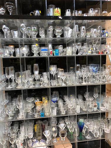 Earthlink Recycling Shop Glassware
