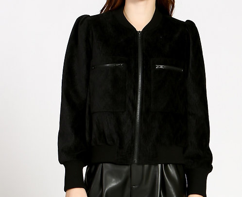Cord Quilted Jacket