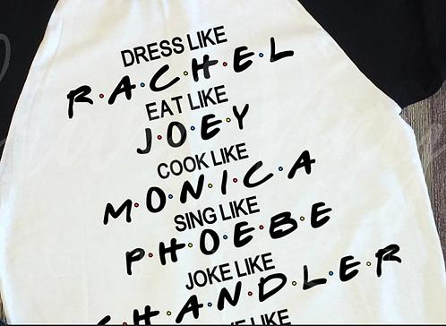 Dress, Eat, Cook, Sing, Joke, Love