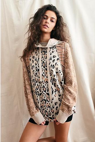 Nala Hoodie - Cheetah Sweater