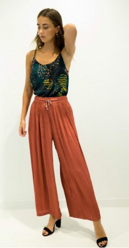 Brick Flare Pants