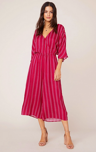 It Takes All Stripes Jumpsuit