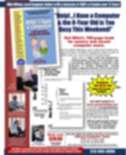 Computer book advertisement