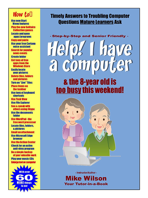 """Help! I Have a Computer and the 8-Year-Old Is Too Busy This Weekend!"""