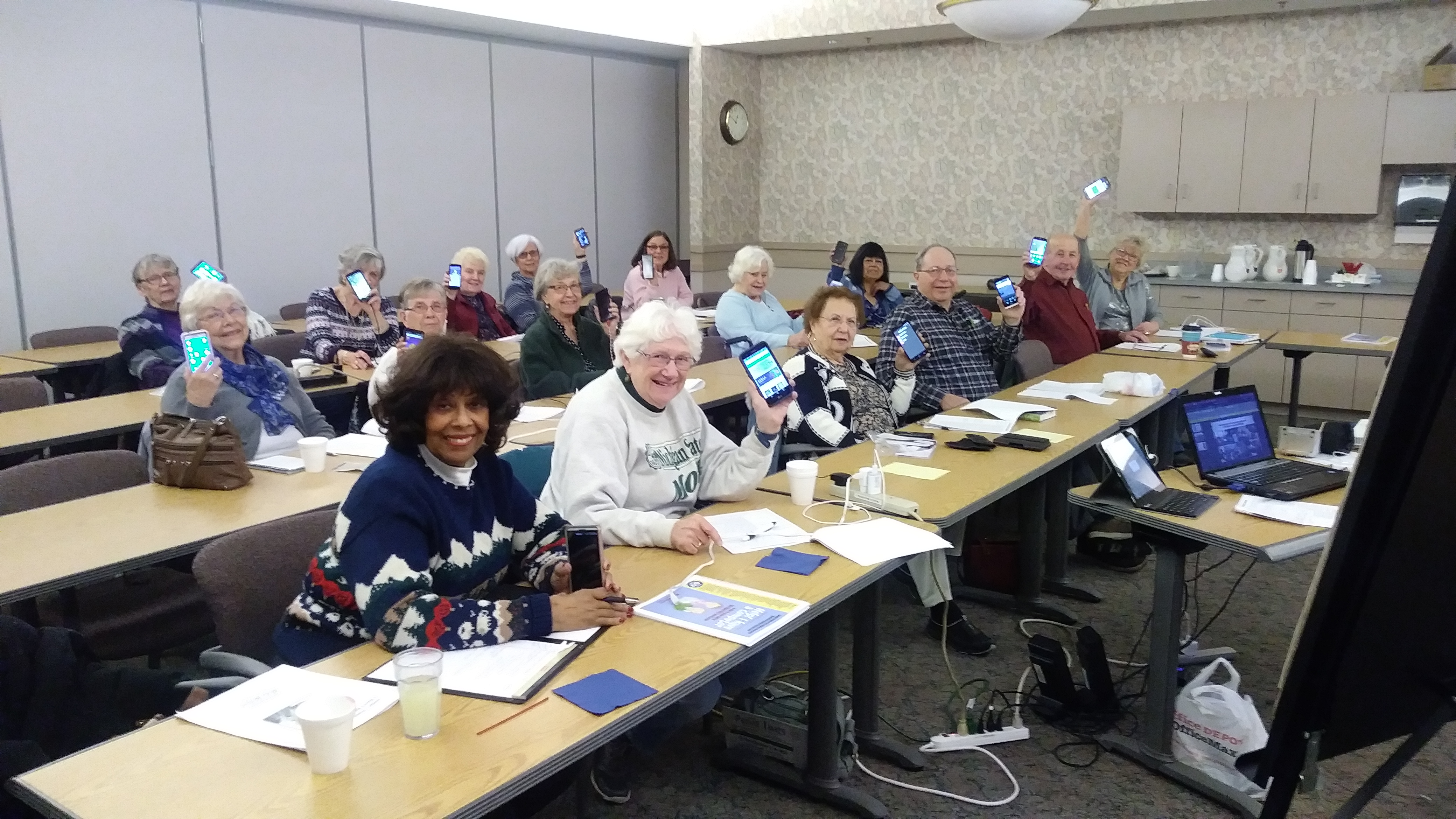 Cell Phone Class for Seniors