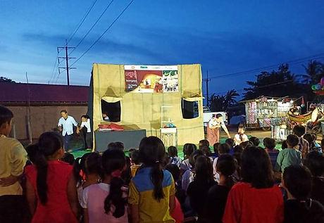 Lakhon Komnit_outdoor evening performanc