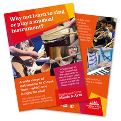 There's still time for your child to take up a musical instrument or learn to sing