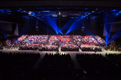 Another feast of vocal talent wows a sell-out audience at the Brighton Centre