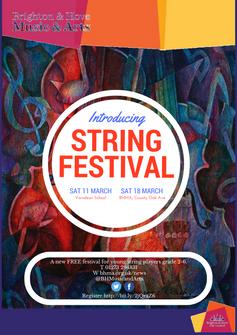 Free String Festival comes to Brighton & Hove - Sat 11 & 18 March