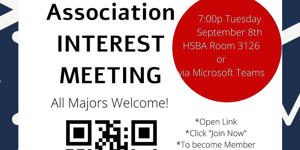 American Marketing Association Interest Meeting