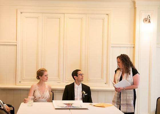 Jewish Ketubah Ceremony