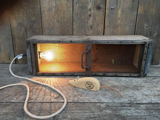 LAMPE PIÈGE A SOURIS