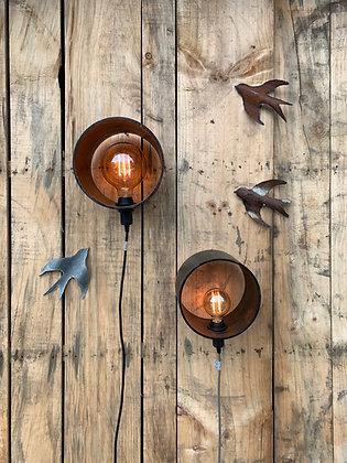 LAMPE TUBE EN MÉTAL