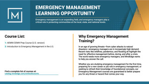 Emergency Management Course Promo