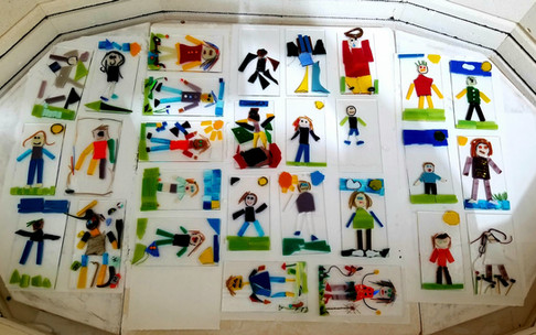 Fused Glass - Kid's Project
