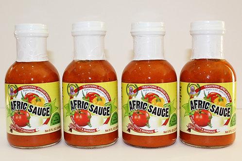 4-pak of Afric Sauce - Hot