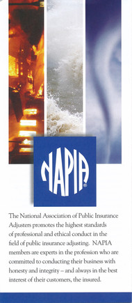 United Claim Services is a Member of National Inusrance Adjusters Professional Assocaition