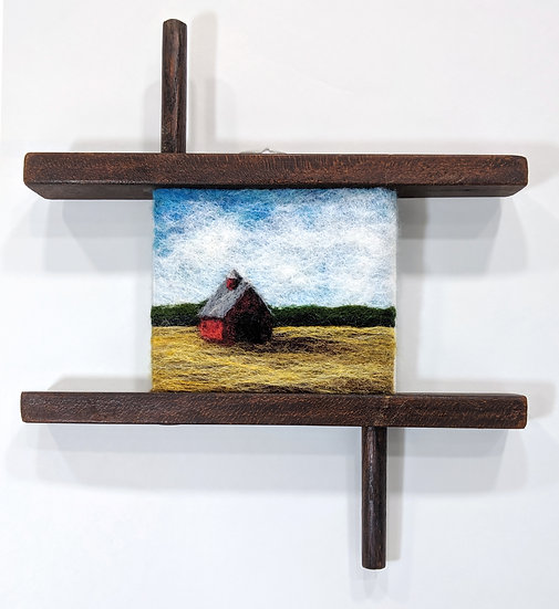 Red Barn in Winder