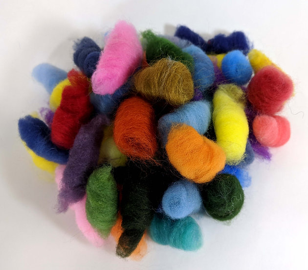 Mixed Roving Buds - Bold