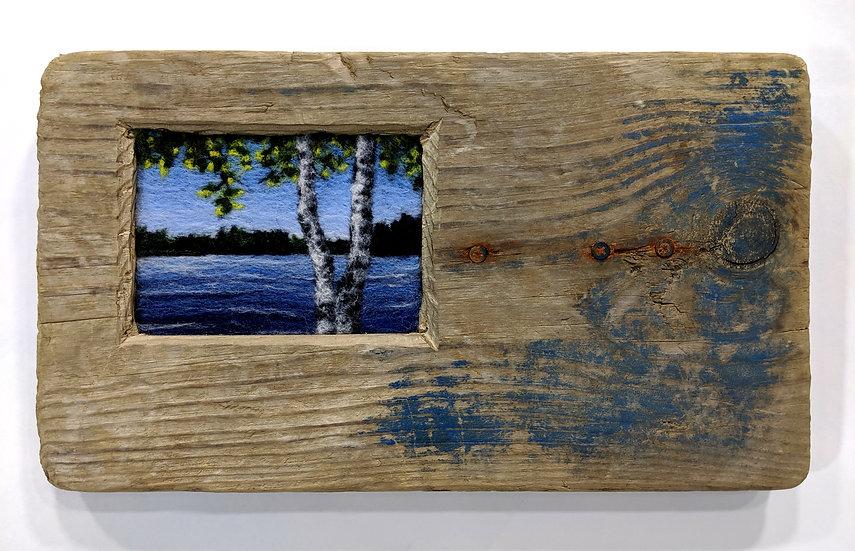 Birch Lake in Driftwood Board