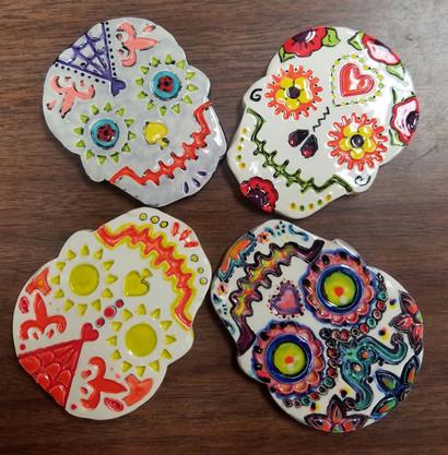 Ceramics Project - Dia De Los Muertes