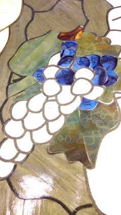 Stained Glass Project - Grapes
