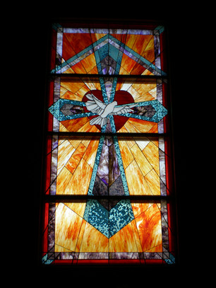 Stained Glass Project - Cross