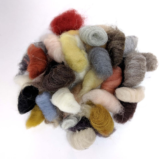 Mixed Roving Buds - Neutral