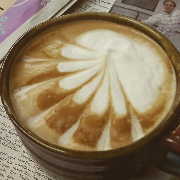 Our Baristas have mad skills!