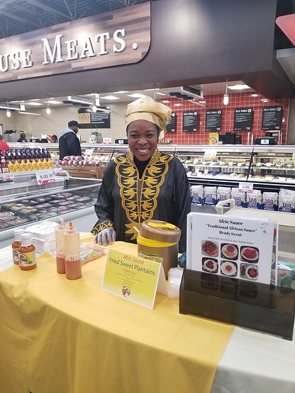 Afric Sauce Demo at Hy-vee.jpg