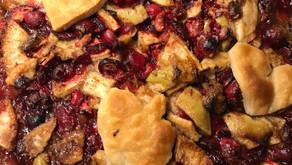 Cranberry Apple Spice Tart