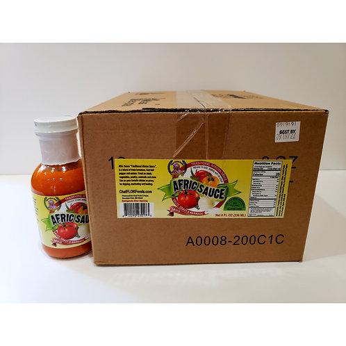 Case of Afric Sauce - Mild  (12  8-ounce bottles)