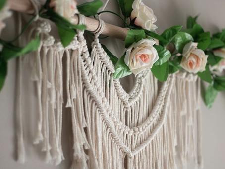 Macrame Wedding Décor