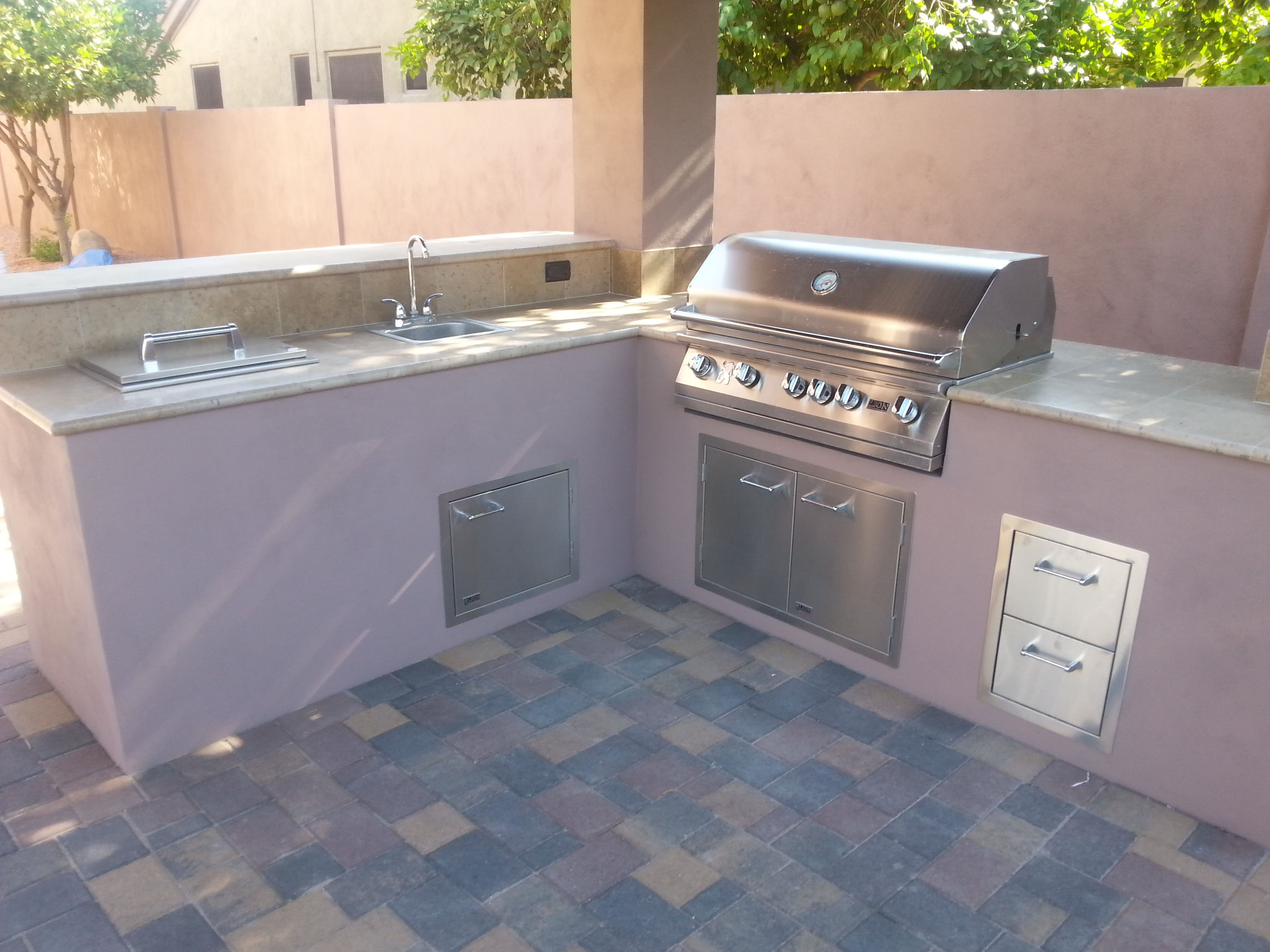 Outdoor Kitchen BBQ Scottsdale AZ