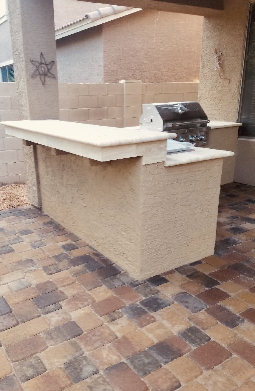 Outdoor Kitchen Island Anthem AZ