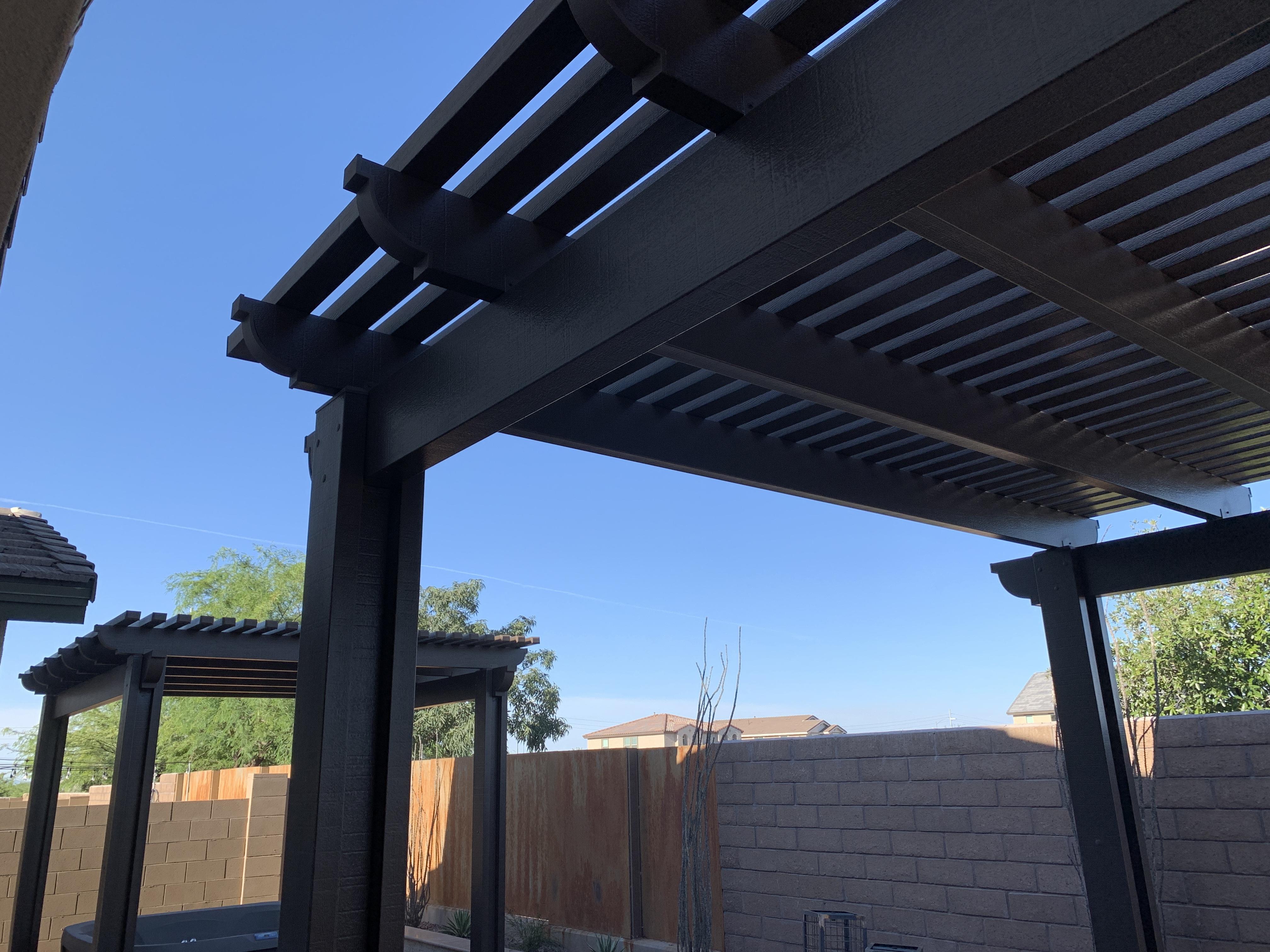 Pergola Shade Structure Cover Bullhead C