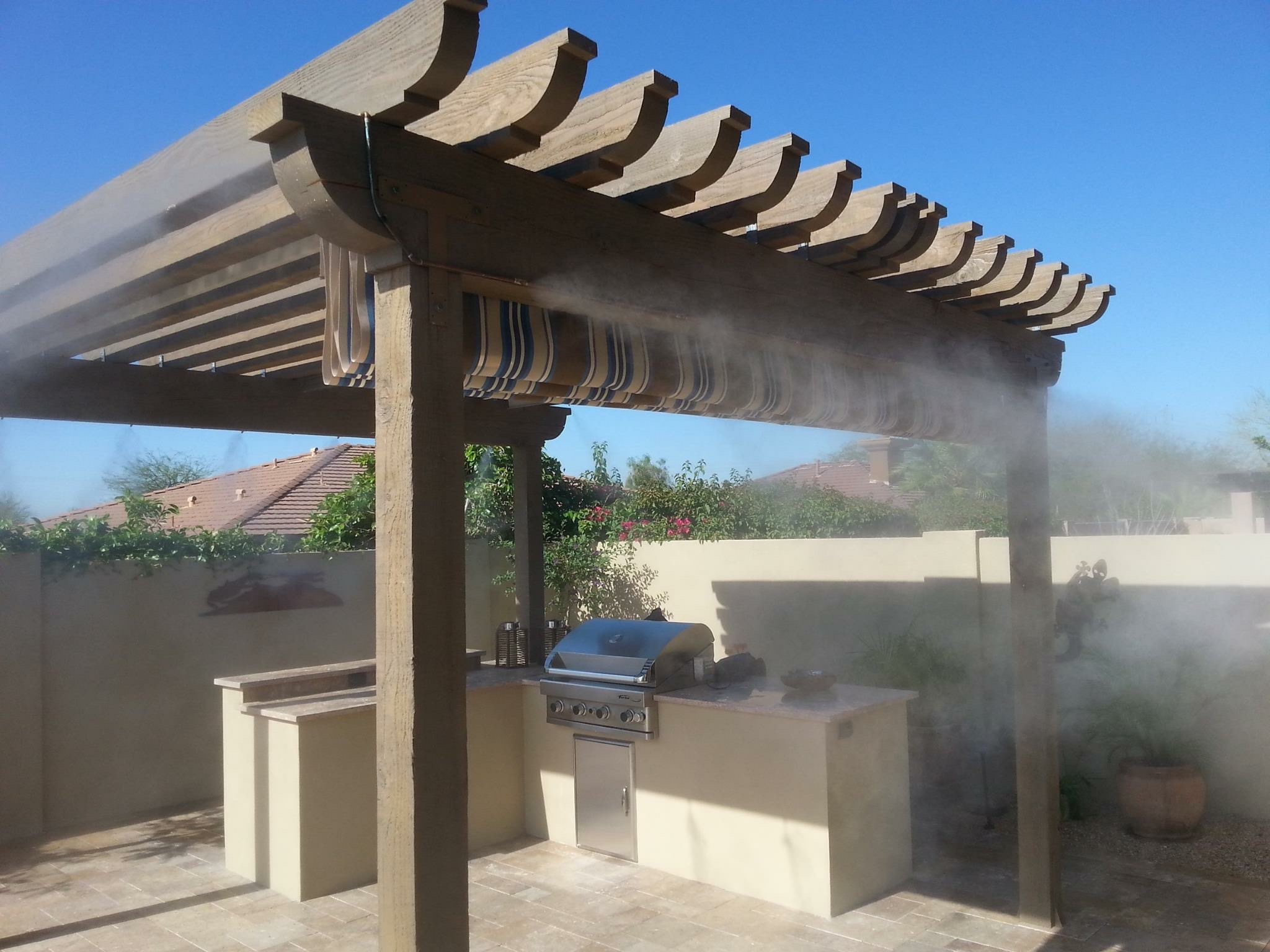 Outdoor BBQ with Pergola Laveen AZ