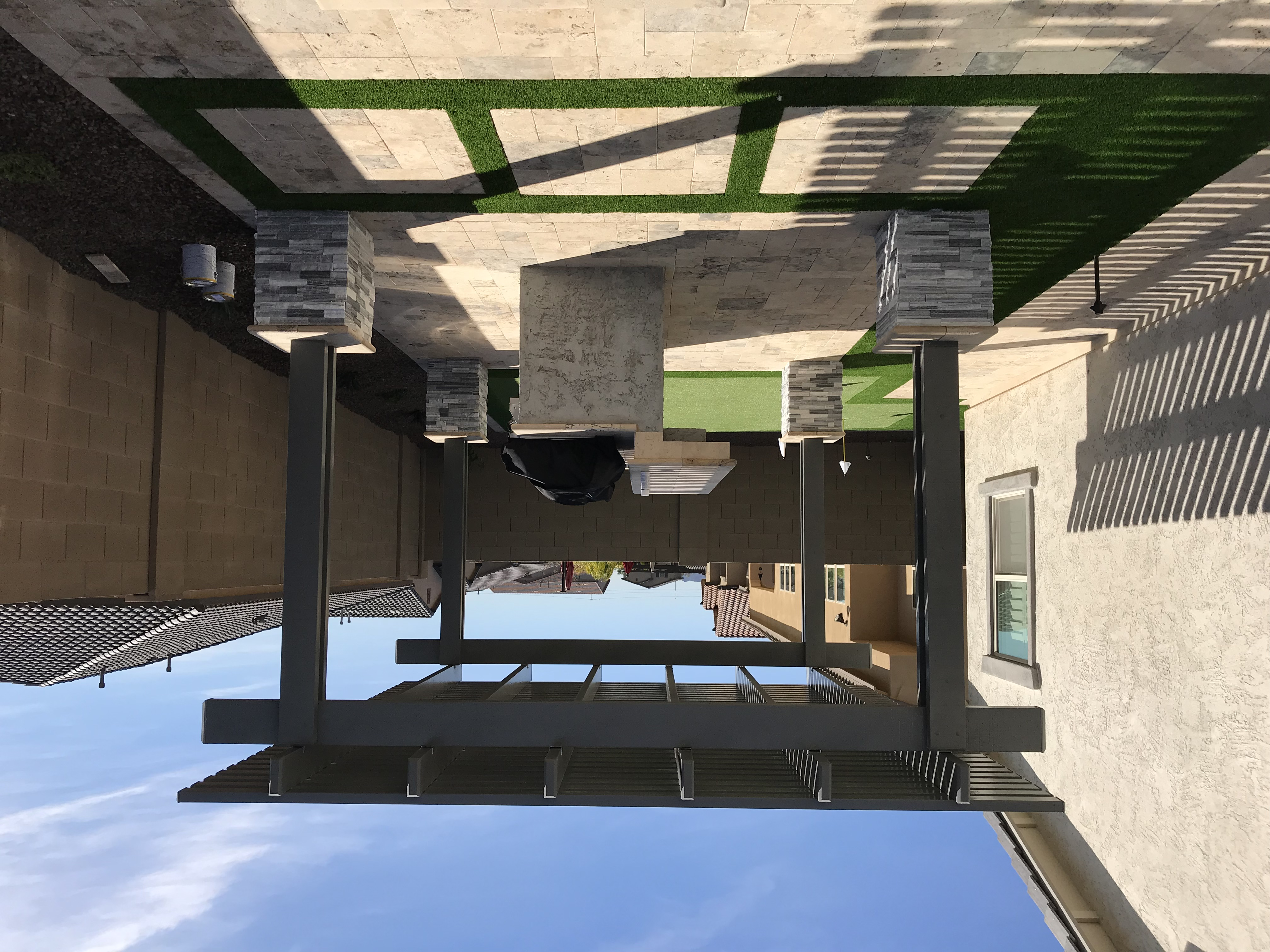 Pergola Shade Structure Cover Chandler A