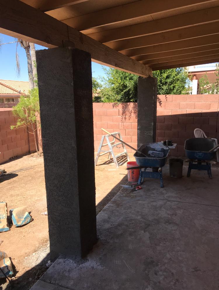 Covered Patio Shade Structure Phoenix AZ