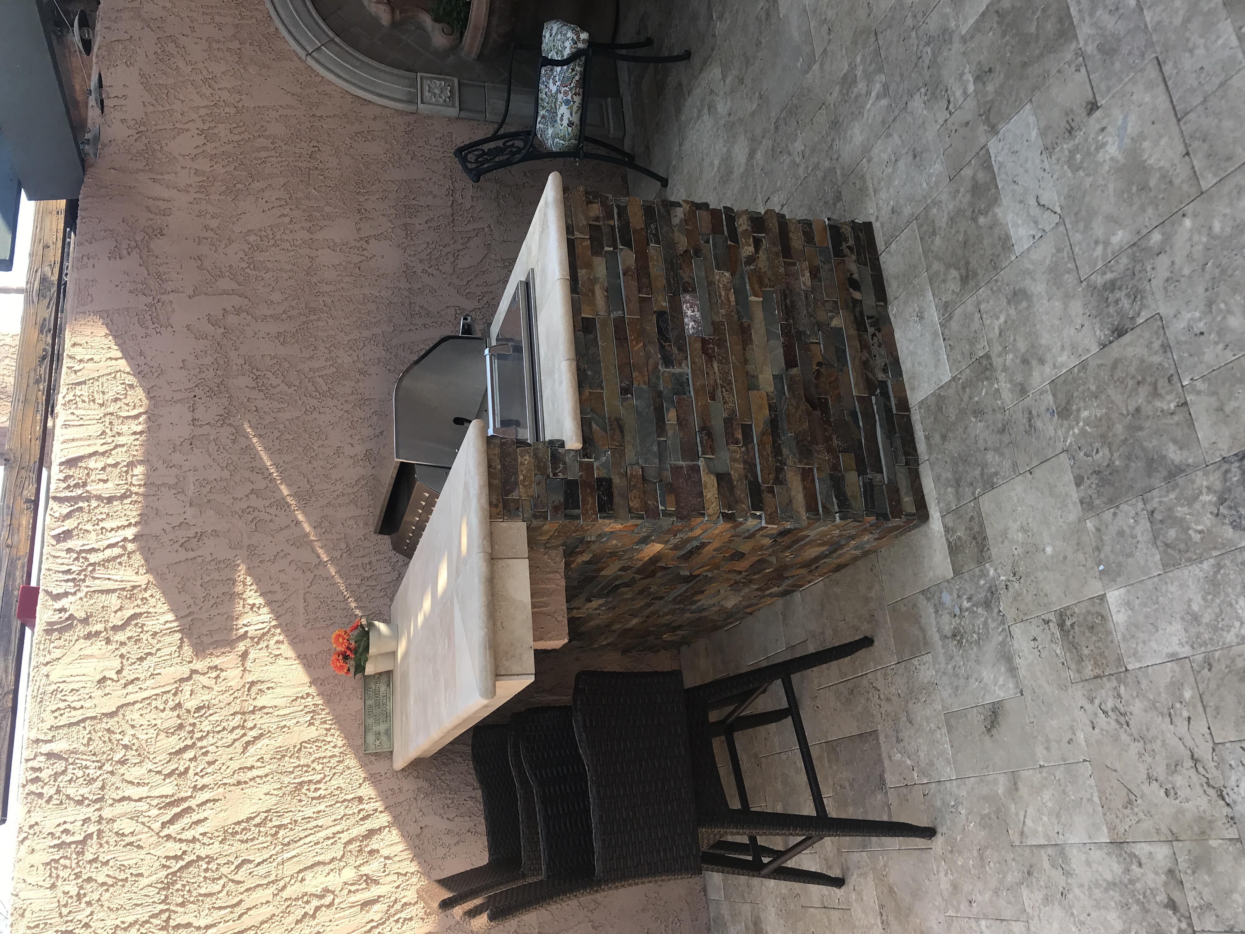 BBQ Island with Stone Scottsdale AZ