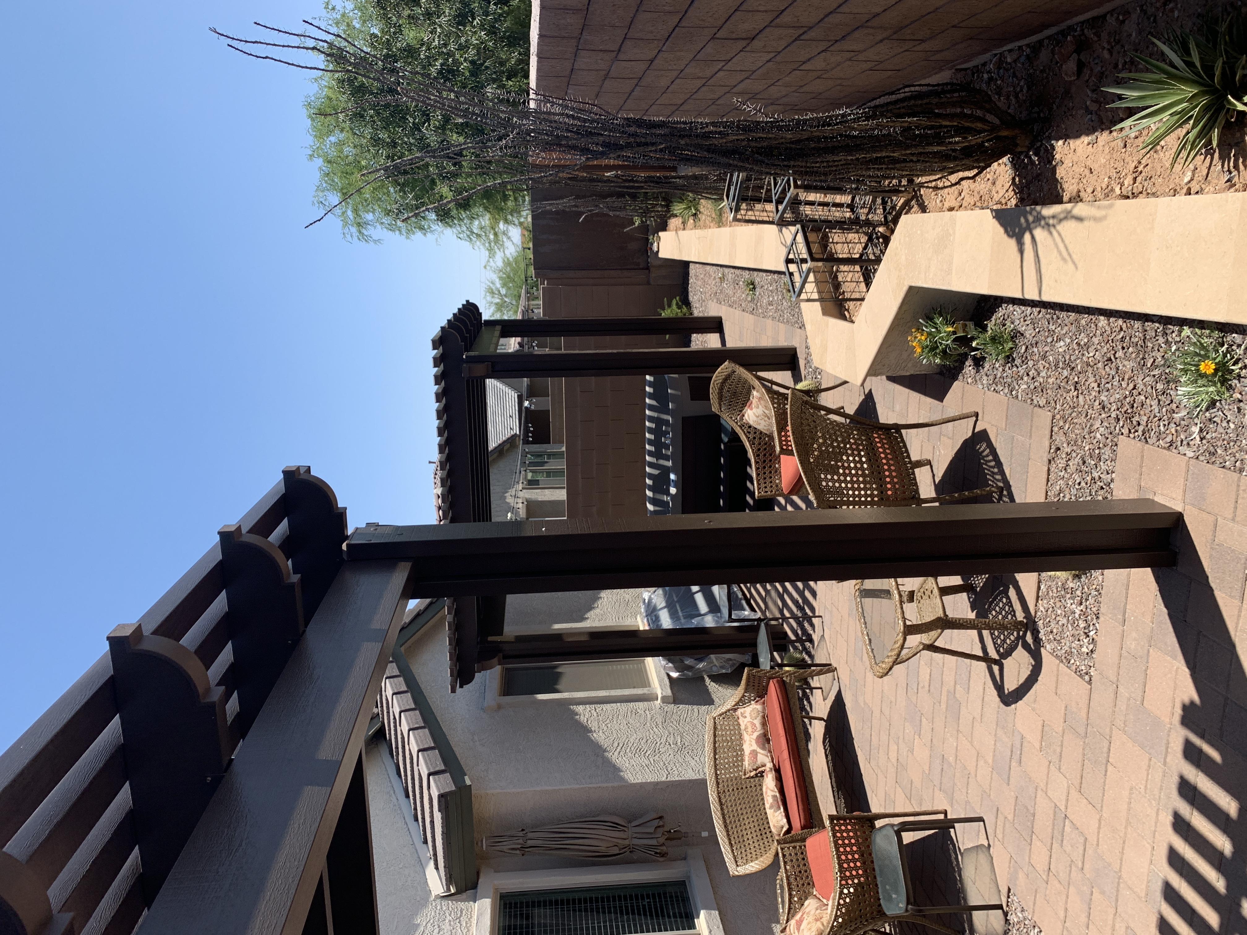 Pergola Shade Structure Bullhead City AZ