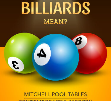 What Does Billiards Mean?