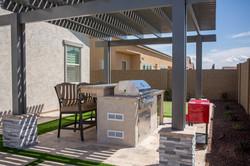 Outdoor Kitchen with Bar Phoenix AZ